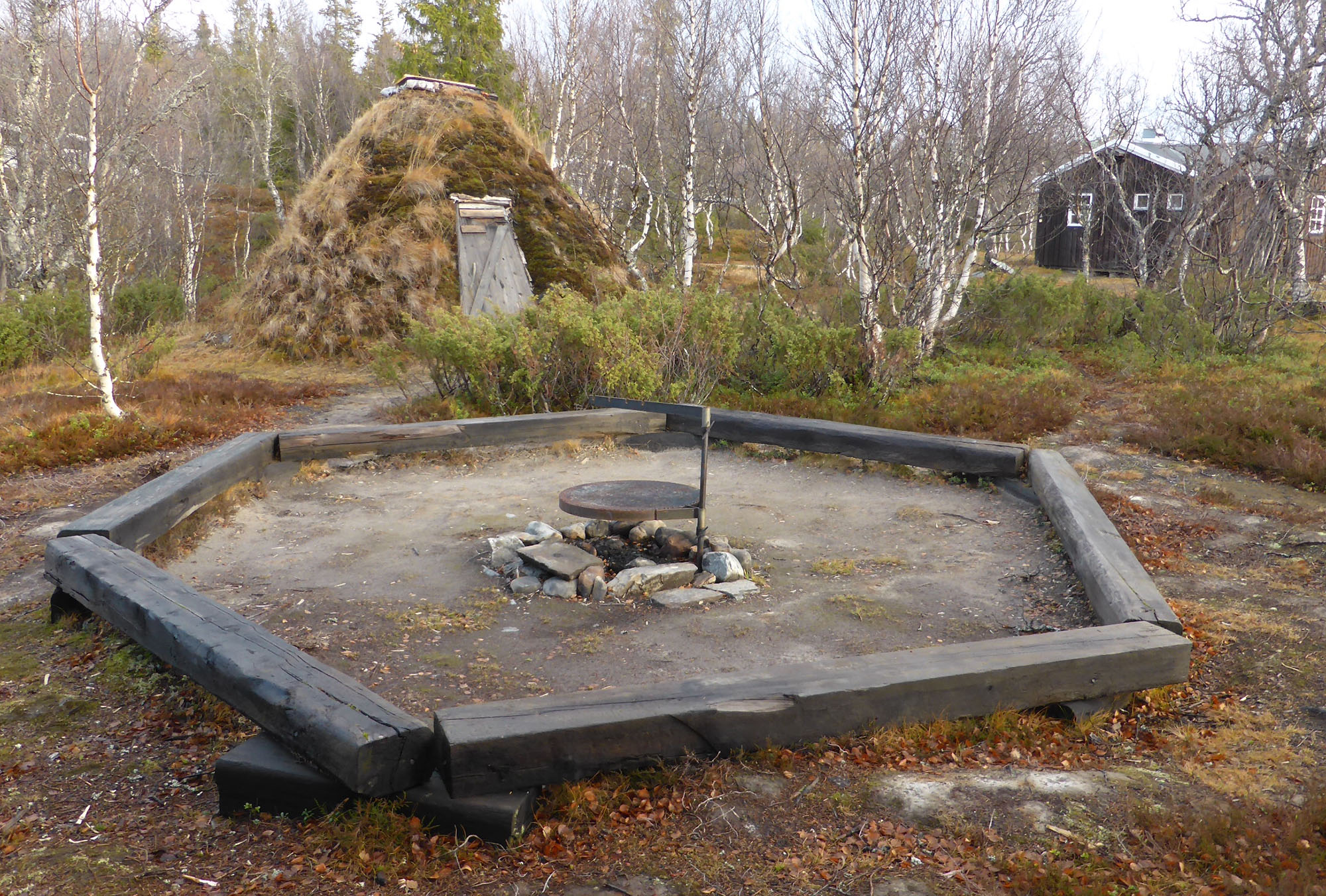 Lägerbålsplatsen