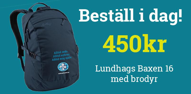 Beställ vår nya ryggsäck från Lundhags!  7a4e0e9550f07
